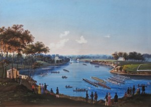 First Schuylkill Regatta 1835